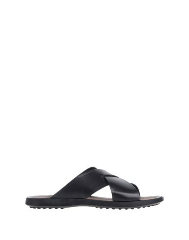 Cross Leather Sandals
