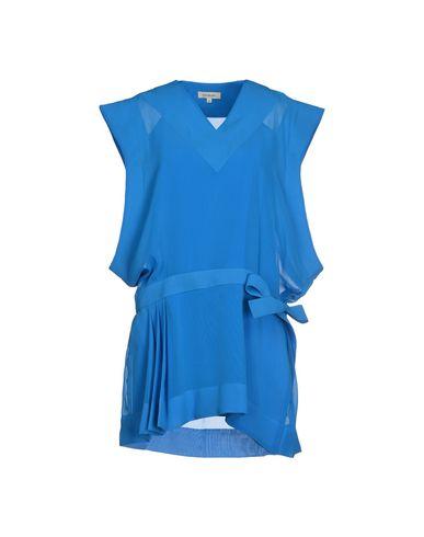 MUGLER SHORT DRESS, AZURE