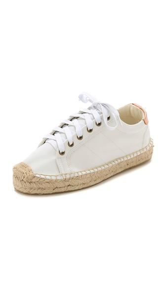 Leather Platform Tennis Sneakerdrille