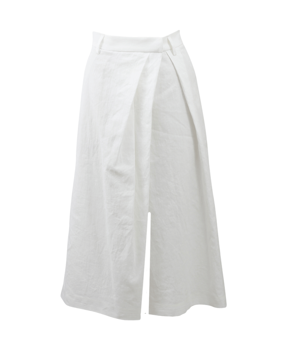 Cross Over Pleated Culotte