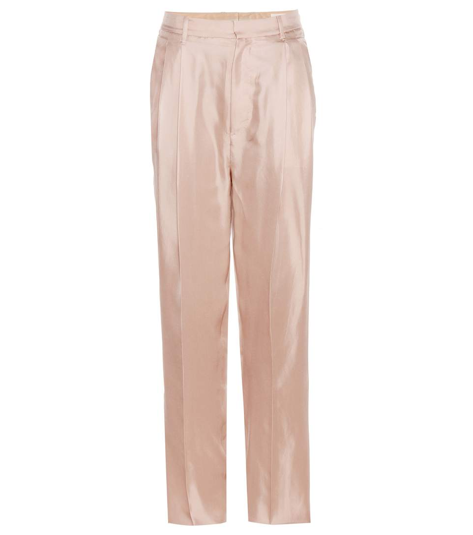 Sally silk trousers