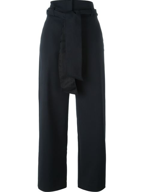 EMANUEL UNGARO belted trousers