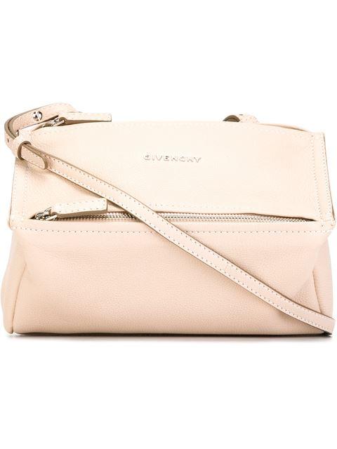 Pandora mini textured-leather shoulder bag