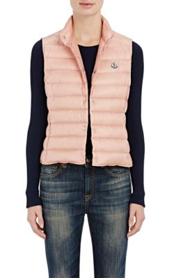 LIANE QUILTED NYLON DOWN VEST