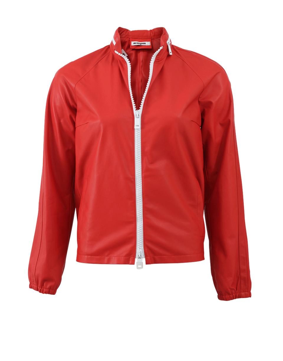 Alfa Leather Bomber Jacket