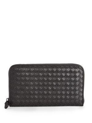 Bottega Veneta Wallets Intrecciato Zip-Around Wallet