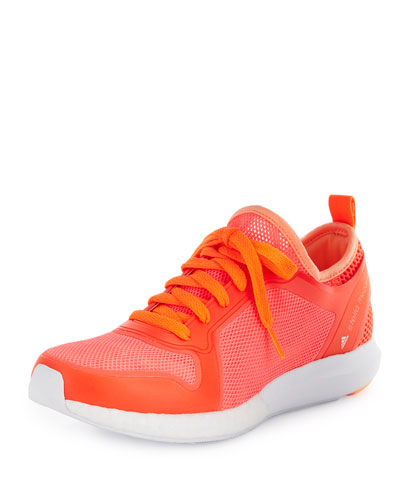 CC SONIC KNIT SNEAKER, RED/WHITE