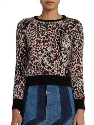Jaguar Intarsia Sweater