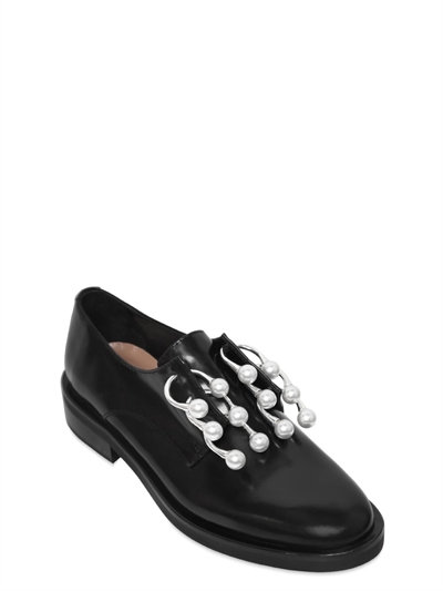 20MM ANELLO PIERCING LEATHER SHOES
