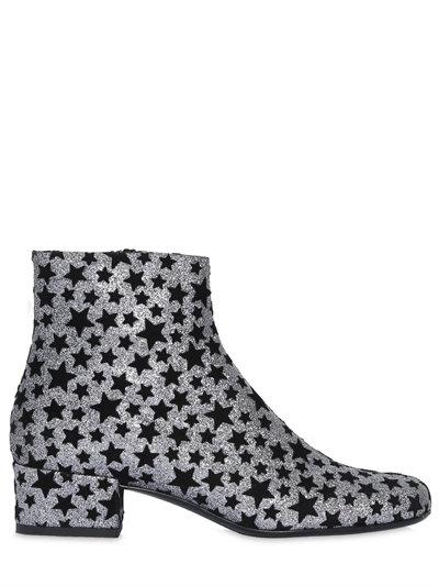 Babies star-embellished glitter ankle boots