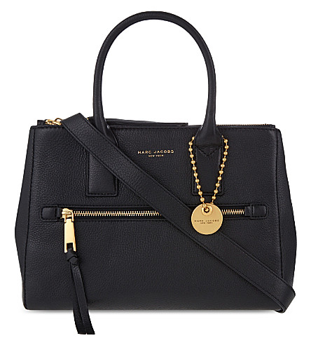 Recruit East/West Pebbled Leather Tote