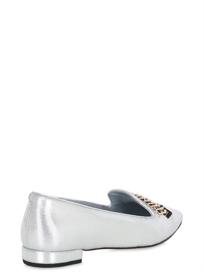 20MM FLIRTING EYES FAUX LEATHER LOAFERS