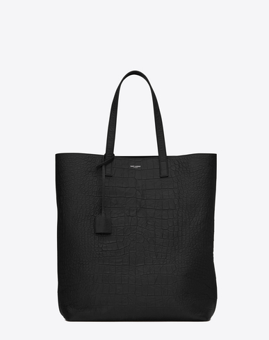 Whole World Shipping Mens Leather Shopping Tote Bag Saint Laurent Free Shipping Outlet Store Ebay For Sale For Cheap Visit New Sale Online 59dfn6h