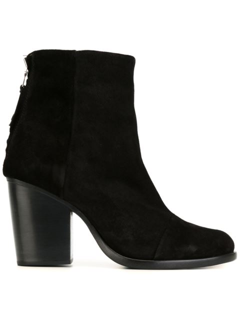 Ashby Mid-Heel Ankle Boots