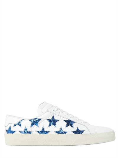 Court Classic SL/06 Star embellished leather sneakers