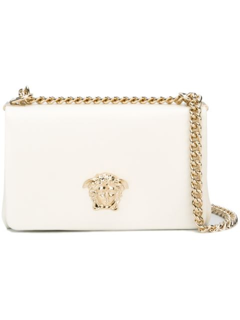 bab042181d9c VERSACE WHITE SMALL PALAZZO SULTAN CHAIN BAG