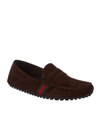 WEB TRIM PENNY LOAFERS