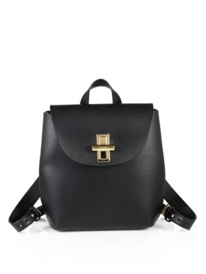 SUVI CLASSIC LEATHER BUCKET BAG