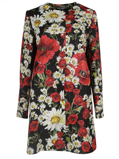 Dolce Gabbana Floral Print Dress