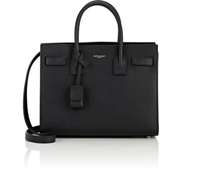 SAC DE JOUR BABY SUPPLE BONDED LEATHER TOTE BAG