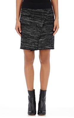 Isabel Marant  Cashlin Mock-Wrap Skirt