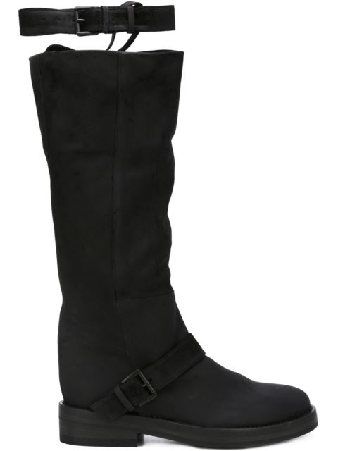 strap detail boots
