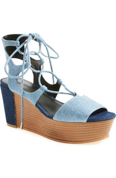 Rebecca Minkoff  'Cady' Wedge Sandal (Women)