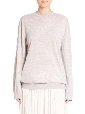 Cashmere-Blend Pullover