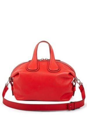 Red New Nightingale Shoulder Bag