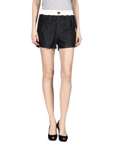 Leather Athletic Shorts