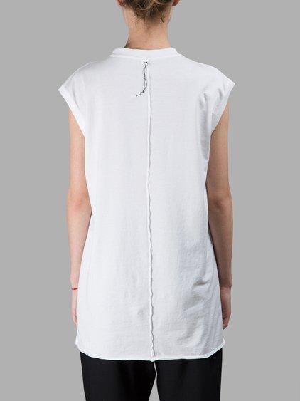 DAMIR DOMA DAMIR DOMA WOMEN'S WHITE T-SHIRT
