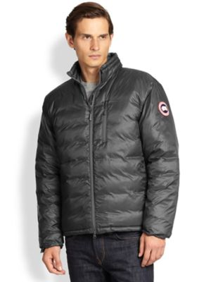 CANADA GOOSE Lodge Packable Quilted Nylon-Ripstop Down Jacket, Graphite