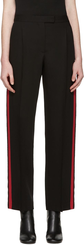 Wool And Silk-Blend Gabardine Wide-Leg Pants