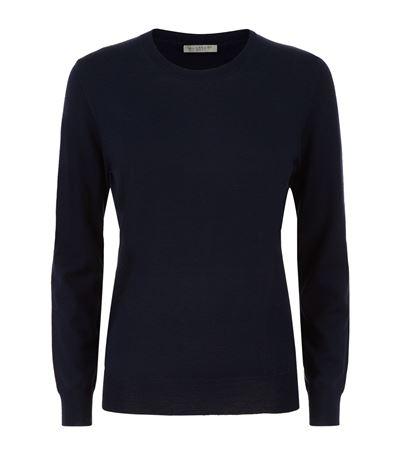 Merino Wool Elbow Patch Sweater