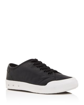 Women's Standard Issue Leather Low Top Lace Up Sneakers