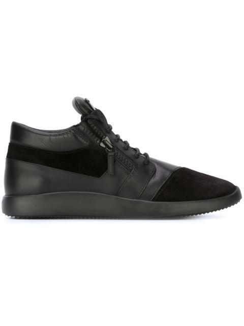 'Runner' mid-top sneakers