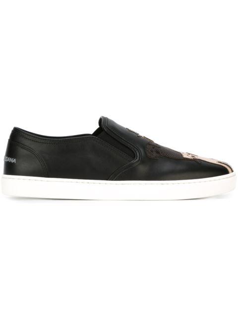 Designer Skate Slip-Ons