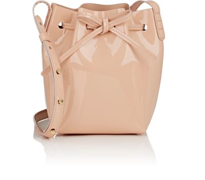 'Mini Mini' leather bucket bag
