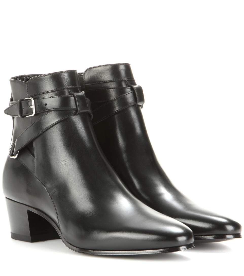 BLAKE 40 JODHPUR LEATHER ANKLE BOOTS