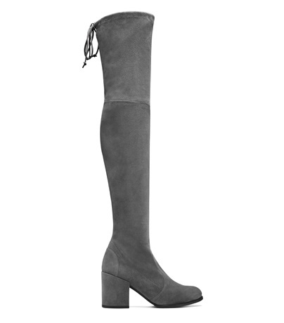 WOMEN'S TIELAND SUEDE OVER-THE-KNEE BOOTS