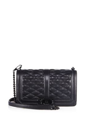 Love Jumbo Quilted Leather Crossbody Bag