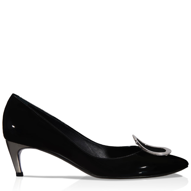 Roger Vivier  CHIPS PUMPS IN PATENT LEATHER
