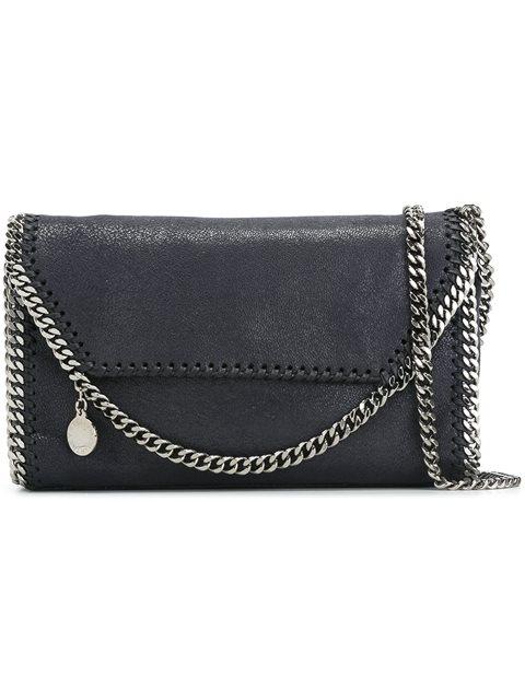 'FALABELLA' BLACK SHOULDER BAG