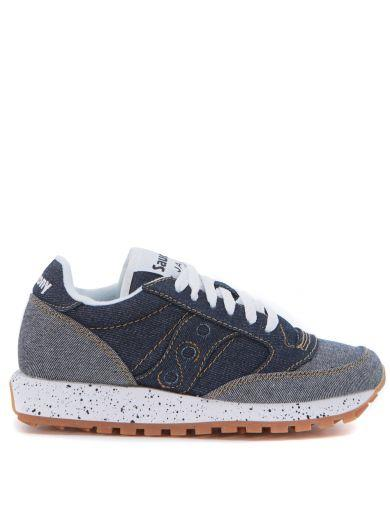 Saucony Sneakers SNEAKER SAUCONY JAZZ IN BICOLOR BLUE DENIM COTTON