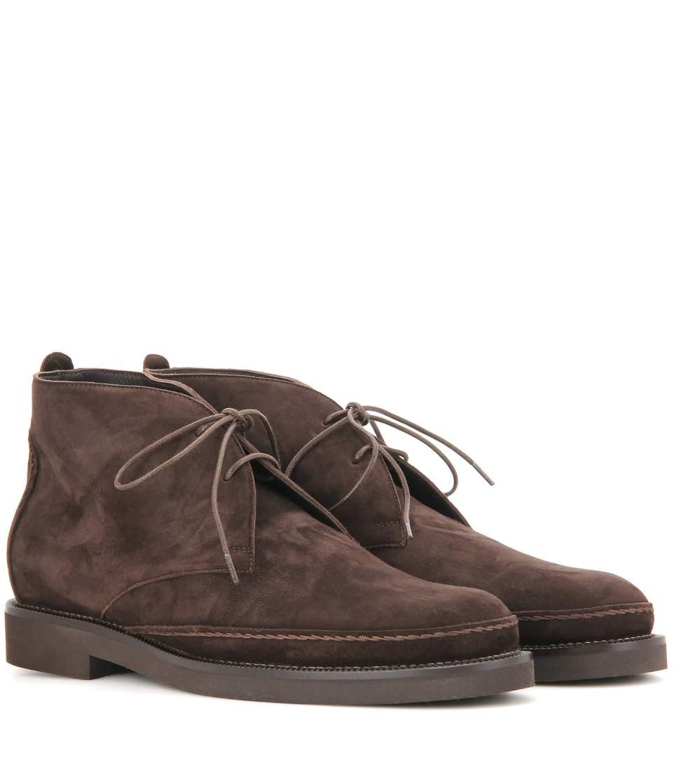Vars suede desert boots