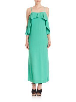 'Pedernal' slip dress