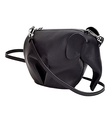 LOEWE Elephant minibag leather shoulder bag