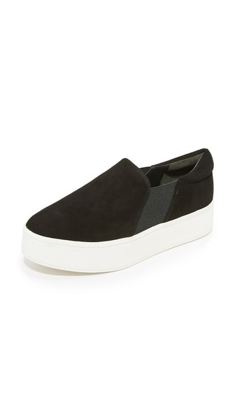 Warren Suede Sneakers - Black