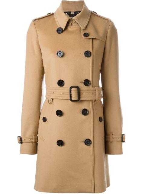 Brown Kensington Trench Coat
