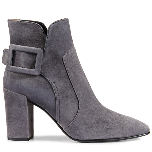 Polly Ankle Boots in Suede